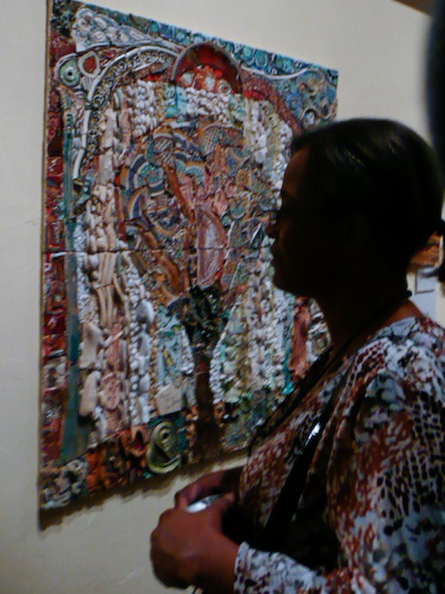 Ilana Shafir's work, known as spontaneous mosaics