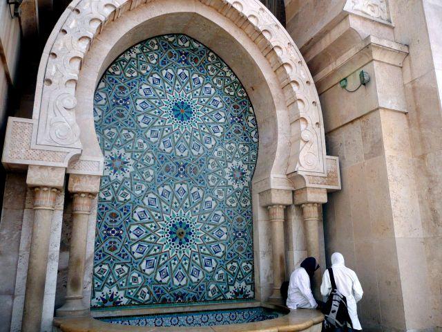 Fountain in Casablanca