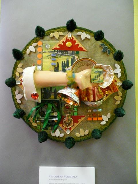 a modern mandala by madeline behrens-brigham