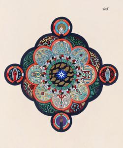 Carl Jung's mandala drawing
