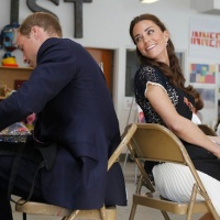 Royal Couple Make Mandalas in LA