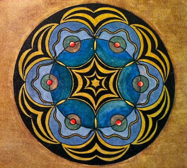 The Sacred Round Mandalas 1926 1945 Lillian Sizemores Minds Eye