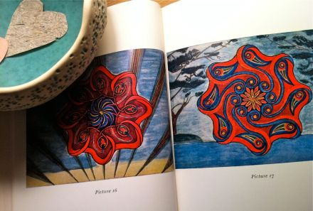 Mandalas by Miss X, from the book 'Mandala Symbolism', by C.G. Jung