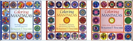 Mandala Coloring Books for young and old by Susanne Fincher