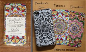 Mandala iPhone Skins for 4/4S from Ordered Chaos