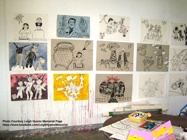 Leigh Hyam's Studio, San Miguel de Allende, MX 2008