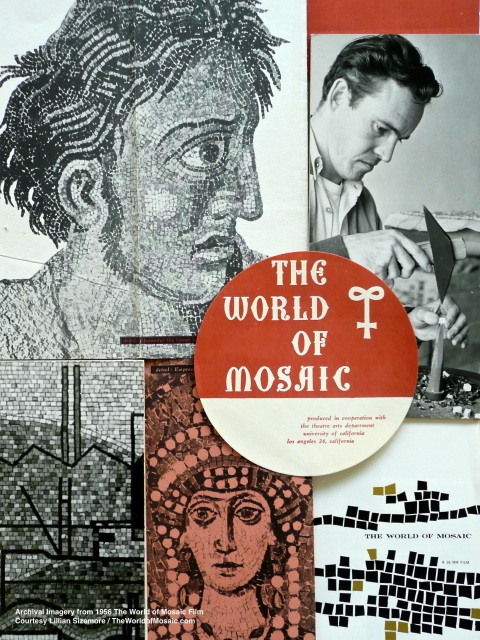The World of Mosaic Production Ephemera from the collection of Lillian Sizemore, bequeathed by producer Ernie Rose.