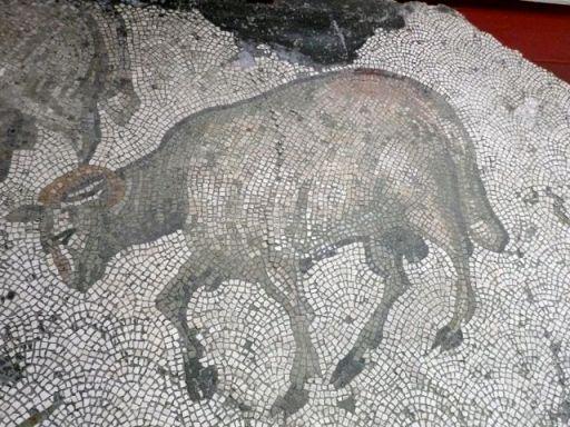 Great Palace Mosaic, Istanbul, circa 325 AD. Photo ©Lillian Sizemore