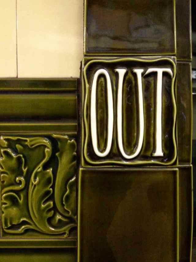 The Tube, Hampstead Stop, London