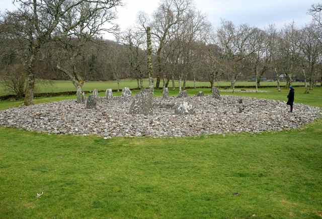 Lilly in Scottish Stone Circle